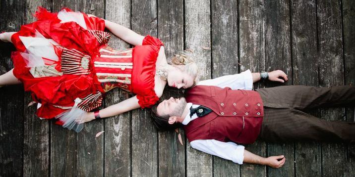 Steampunk inspired Wedding Dress, 2013