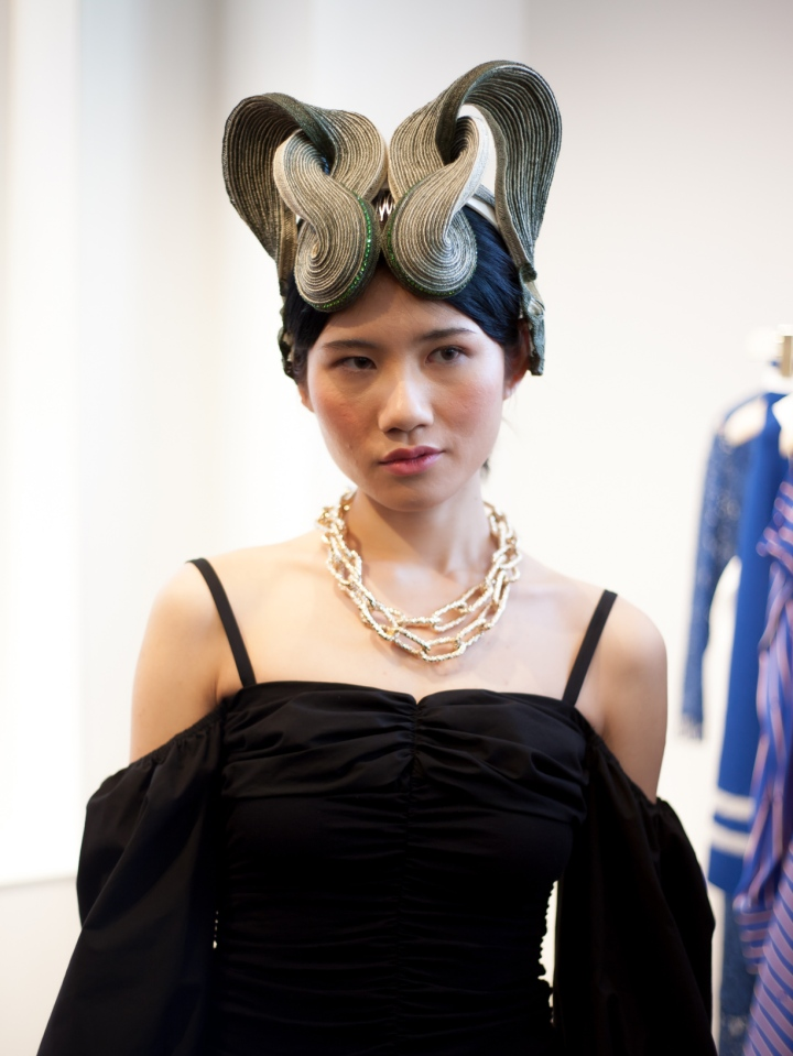 Images from Dmi, Humble Magazine - X Terrace PINKO World Garden Hat Exhibition Press Preview 49